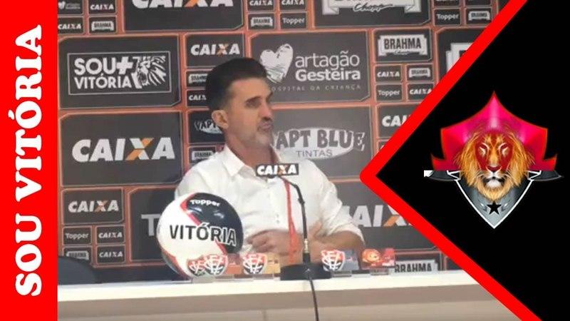 Em coletiva após empate Mancini diz que eliminação na Copa do Nordeste já passou
