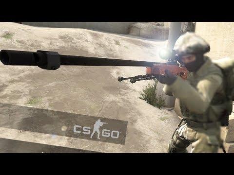 Fast kill with AWP CS GO