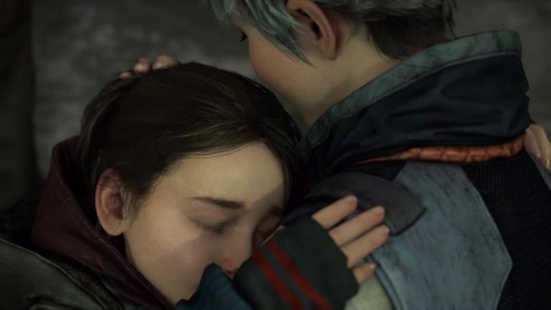 Наша концовка🌟 На обнимашках Кэры с Алисой мы заплакали detroitbecomehuman detroit dbh kara ax400 Кэра alice luther