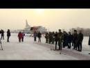 Возвращение экипажей дальних бомбардировщиков Ту-22М3 в Иркутскую области после успешного выполнения задач в САР