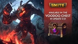 SMITE - New Skins in the 5.13 Voodoo Chest!