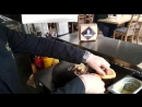 Шеф-повар ТАМЛЕ готовит фирменный бургер 2 часть