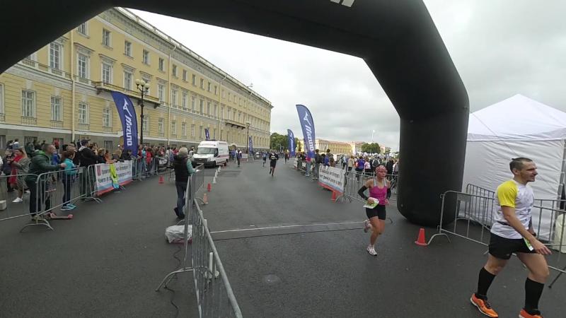 Финиш 30 км Пушкин - СПБ 17.09.17 2ч36мин