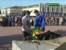 Село моё...Открытие Щита Невского
