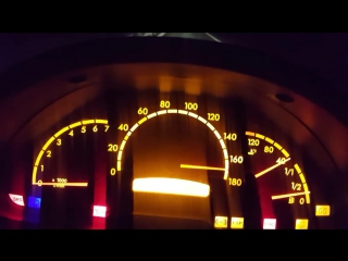 Mercedes Sprinter OM605 Acceleration 60-190 km_h