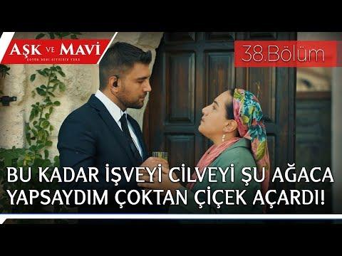 Aşk ve Mavi 38 Bölüm Birgül korumaya kur yaparken Refika'ya yakalanıyor