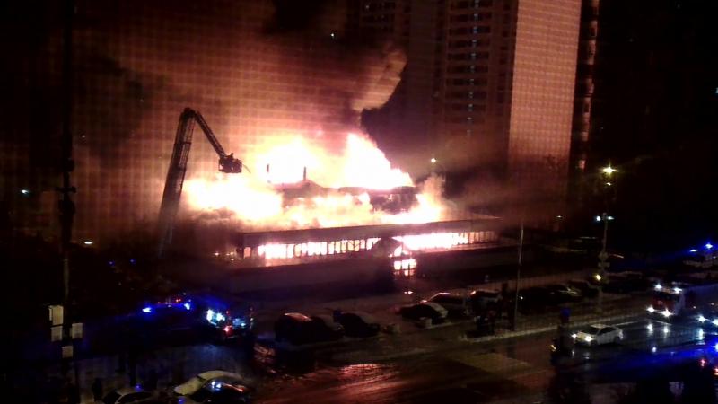 Пожар на сумском