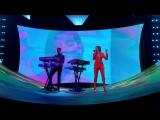 Calvin Harris &amp Dua Lipa perform One Kiss (Live on The Graham Norton Show)