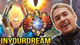 Inyourdream Invoker Top 2 SEA Server Dota 2