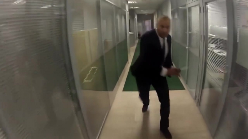 Biting Elbows - The Stampede Bad MotherFucker - (Insane Office Escape Part 1 2 Complete)