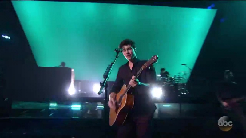 Shawn Mendes - There's Nothing Holdin' Me Back (live at AMA 2017)