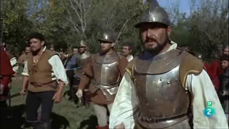 Конкистадоры Тихого океана (1963). Бой отряда Бальбоа с индейцами на пути к побережбю Тихого океана