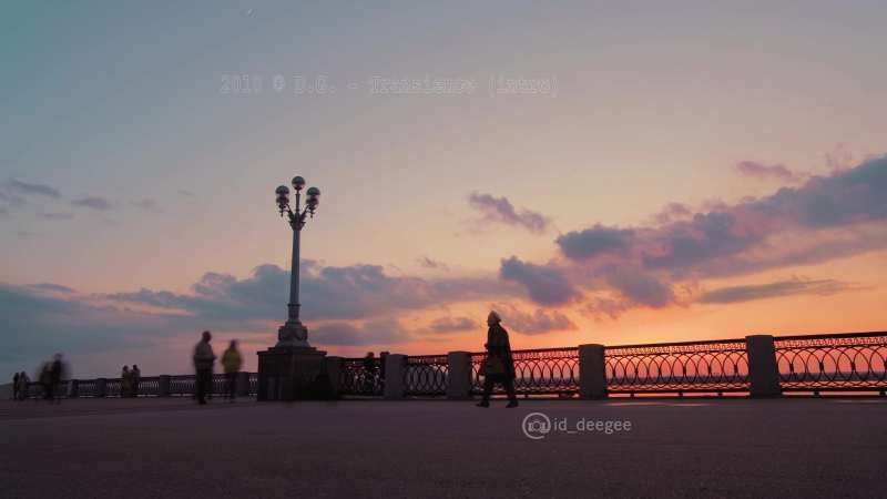 D.G. - Transience (intro) Sunset Timelapse 4K