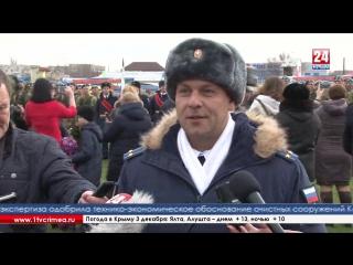 Боевое знамя вручили первому в Крыму батальону ВДВ