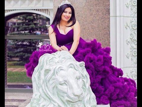 Бэкстэйдж фотосессии в платье Облако. Беременная модель.