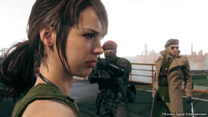 Metal Gear Solid V: The Phantom Pain 5 Молчунья