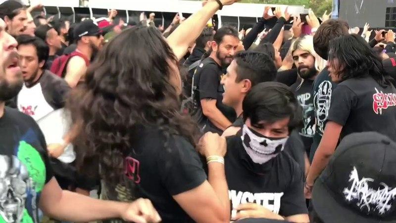 """Saxon Heavy Metal Thunder"""" en el Corona Hell Heaven Metal Fest México 🇲🇽 CDMX 2018"""