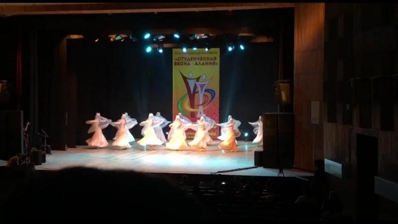 Скгми. Осетинский танец. ВеснаАлания2018.
