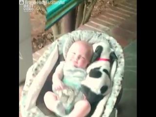 Малыш и щеночек