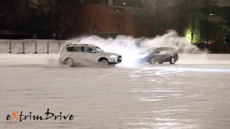 Зимний вальс. Танец автомобилей (1)