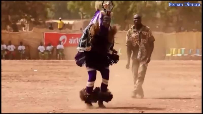 Чумовой танец папуаса Я не видел ещё такой скорости