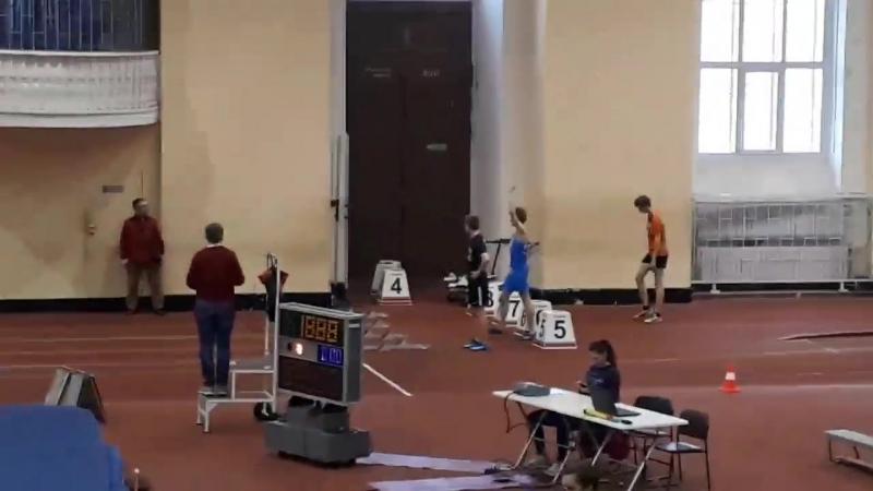 Первенство Академии финал бега на 60м с/б