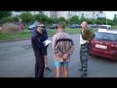 21.05.2018 Пьяный водитель совершил наезд на опору освещения