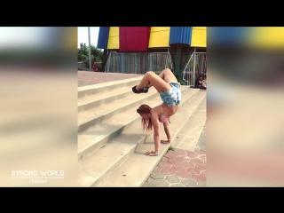 SLs МОЩНАЯ Гимнастика и Танцы на ПИЛОНЕ Jessica Bogdanov Мотивация 2018