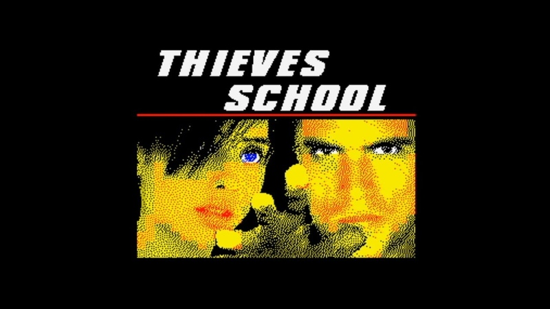 Thieves School 128k (2008) (FULL GAME: ACTION STEALTH EXPANSION) WalkthroughReview, ZX Spectrum