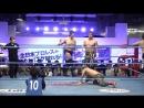 Atsushi Aoki Rey Paloma Takeshi Okada vs Takao Omori KAI Atsushi Maruyama AJPW Champion Carnival 2018 Day 6