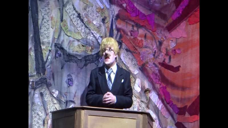 Ежегодное поздравление юбиляров в театре Комедии