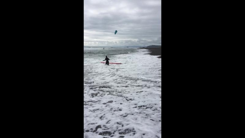 как я сёрфила в Тихом океане