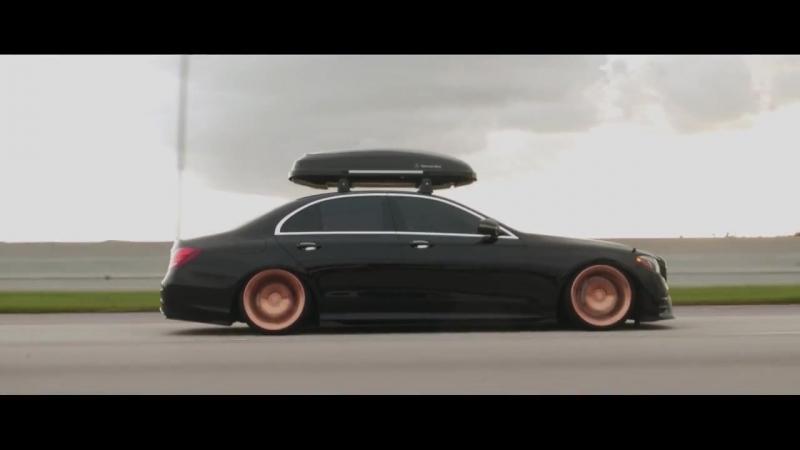 2018 Mercedes Benz E300 Sport on Blaque Diamond BD-77 Rose Gold | Perfect Stance
