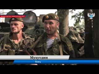 Тренировочные занятия батальона специального назначения ЧЕЧЕН