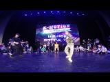 Дарья Каменская vs Елена Осадчая FINAL HIP HOP BATTLE ADULTS BEGINNERS E-MOTION DANCE FESTIVAL 2018