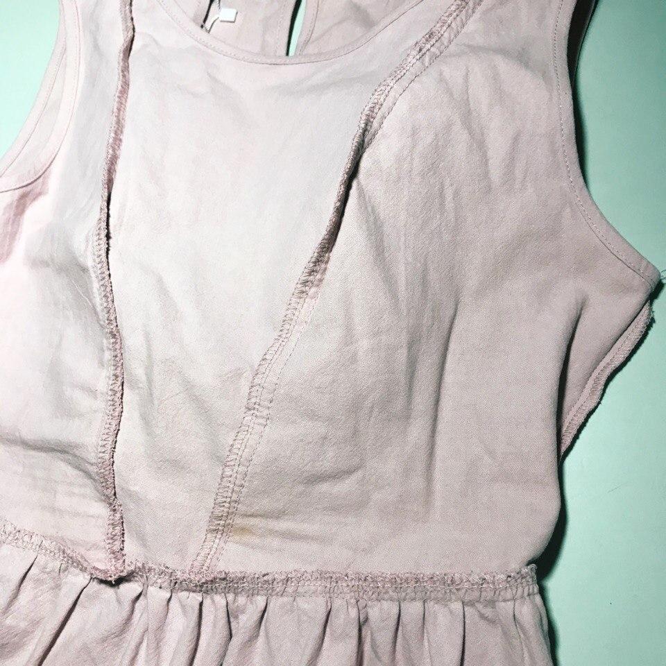 Нежное платье из классной ткани