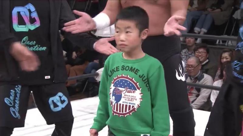 Don Fujii, Misterioso Jr., Mondai Ryu vs. Kotoka, Shun Skywalker, U-T (Dragon Gate - The Gate Of Evolution 2017 - Day 3)