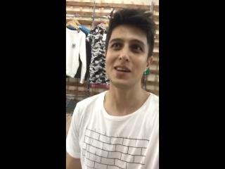 Хабиб Шарипов в магазине Bandit