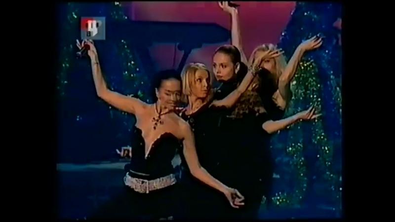 Блестящие - Белым снегом (Новый Год на ТВЦ 2001-2002)