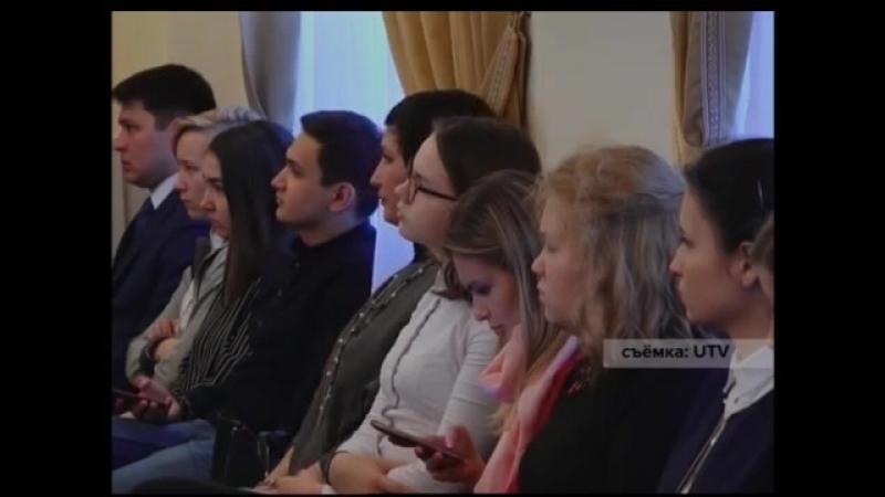 Ирек Ялалов встретился с волонтерами/ 09.04.2018 г.
