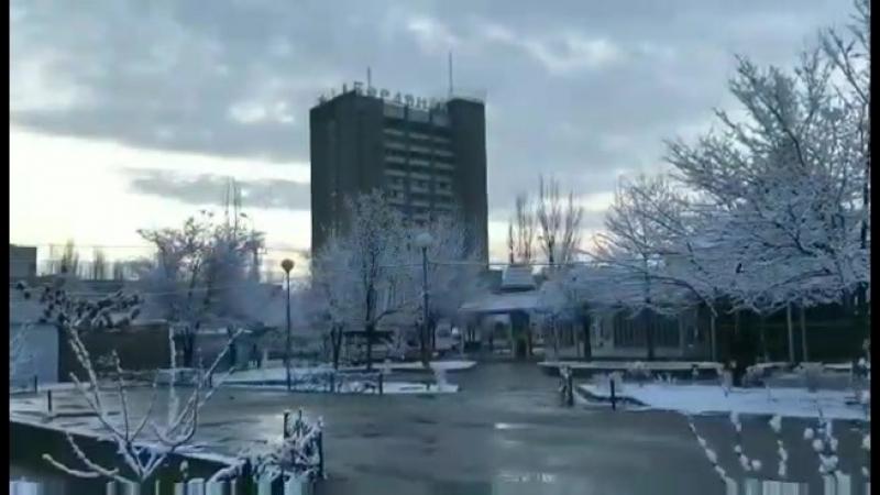 Прогулочка по Зимнему Бердянску 2018