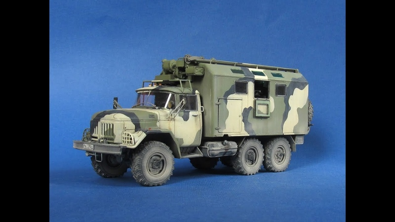 ЗиЛ-131 МТО-АТ ICM 1:35. ZiL-131 MTO-AT