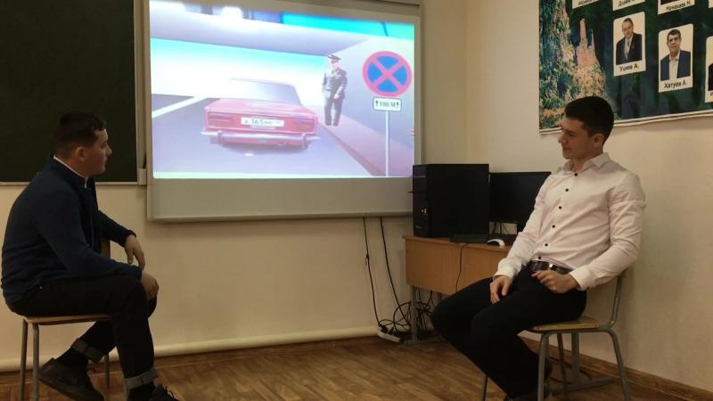 Немного остросоциального видео от учеников средней школы №1 с. Знаменское, Чеченской Республики. Отлично, ребята!