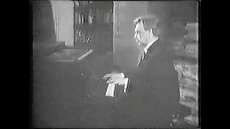 Генрих Нейгауз играет К.Шимановского / Heinrich Neuhaus plays Szymanowski Prelude Op. 1 No.8