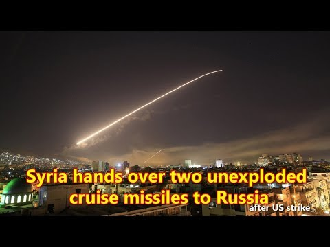 Syria hands over two unexploded cruise missiles to Russia found after US strike — source