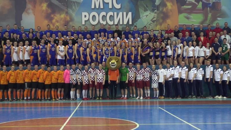 Поддержка российских спортсменов от СПБУ ГПС МЧС России