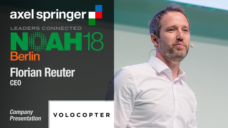 Флориан Рейтер, генеральный директор Volocopter, о концепции и инфраструктуре городского летающего такси(пока на английском)