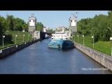 Timelapse-съемка прохода кораблей через шлюзы на канале им. Москвы