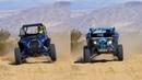 Polaris RZR XP Turbo S vs Can Am Maverick X3 X RC Desert Action