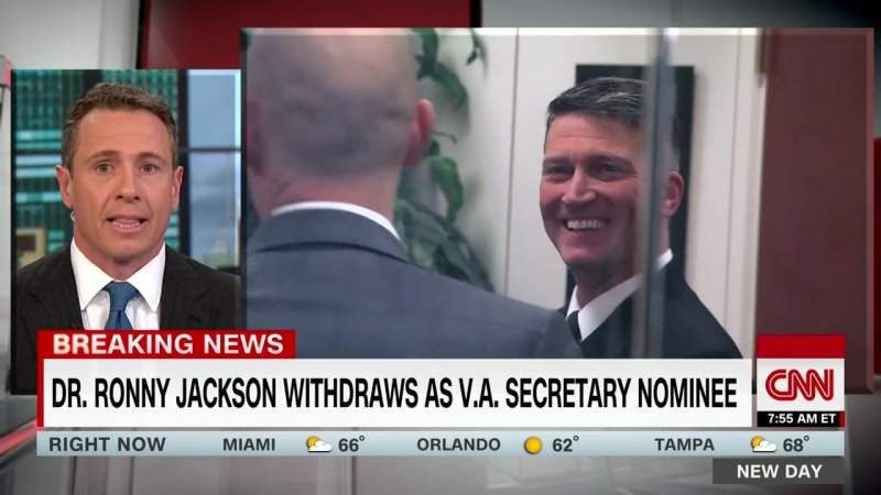 Ronny Jackson withdraws as VA secretary nominee
